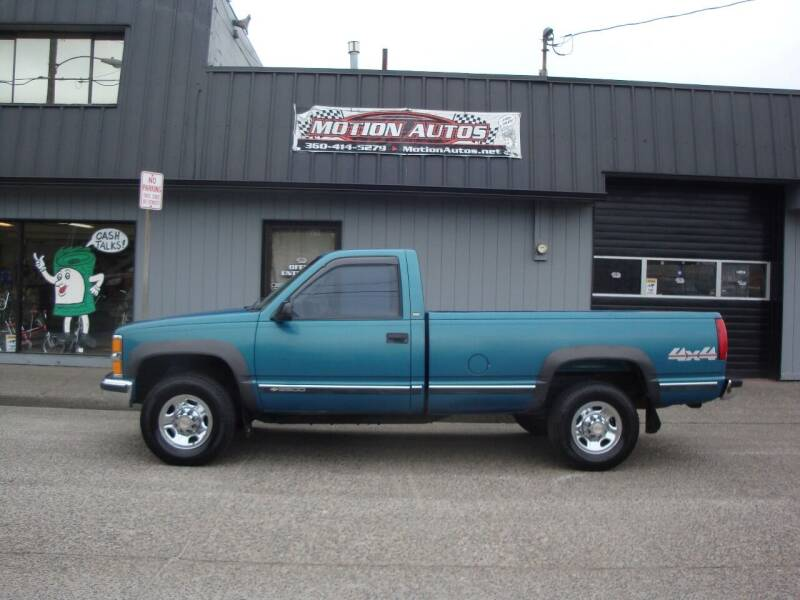 1998 Chevrolet C/K 2500 Series for sale at Motion Autos in Longview WA