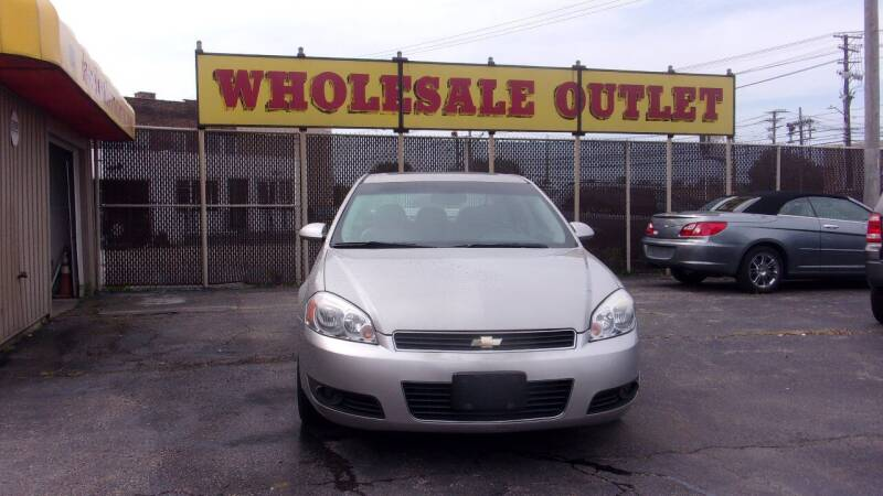 2007 Chevrolet Impala for sale at LONG BROTHERS CAR COMPANY in Cleveland OH