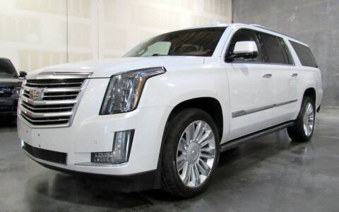 2016 Cadillac Escalade ESV for sale at Platinum Motors in Portland OR