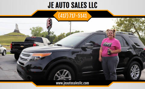 2014 Ford Explorer for sale at JE AUTO SALES LLC in Webb City MO