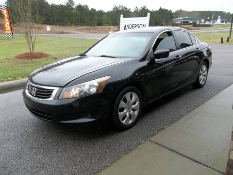 2010 Honda Accord for sale at Anderson Wholesale Auto in Warrenville SC