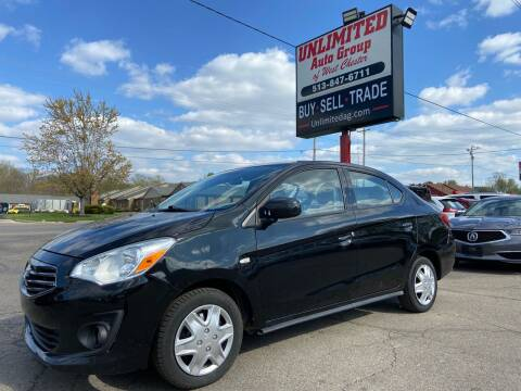 2019 Mitsubishi Mirage G4 for sale at Unlimited Auto Group in West Chester OH