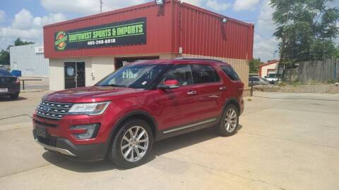 2017 Ford Explorer for sale at Southwest Sports & Imports in Oklahoma City OK