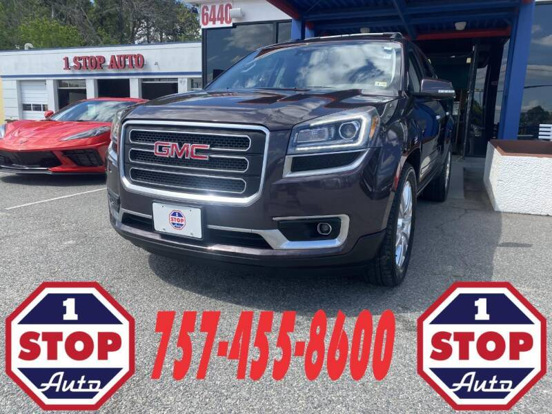 2015 GMC Acadia for sale at 1 Stop Auto in Norfolk VA