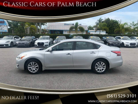 2014 Nissan Altima for sale at Classic Cars of Palm Beach in Jupiter FL