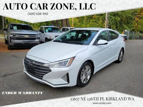 2020 Hyundai Elantra for sale at Auto Car Zone, LLC in Kirkland WA