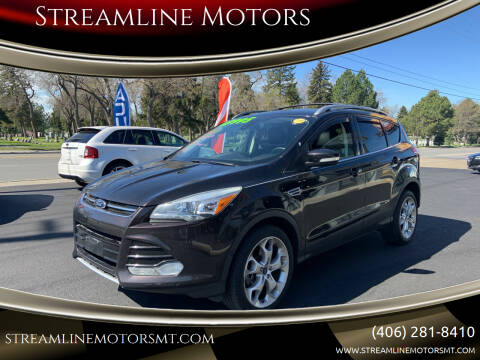 2013 Ford Escape for sale at Streamline Motors in Billings MT