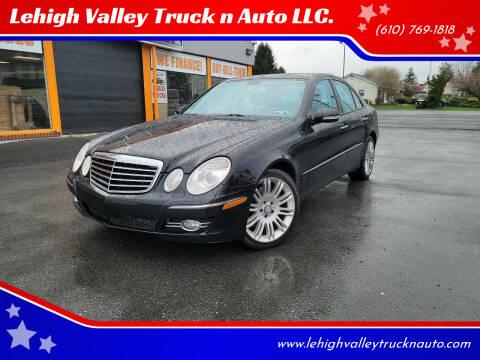 2008 Mercedes-Benz E-Class for sale at Lehigh Valley Truck n Auto LLC. in Schnecksville PA