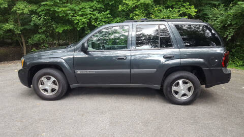 2004 Chevrolet TrailBlazer for sale at Ryan Motors LLC in Warsaw IN