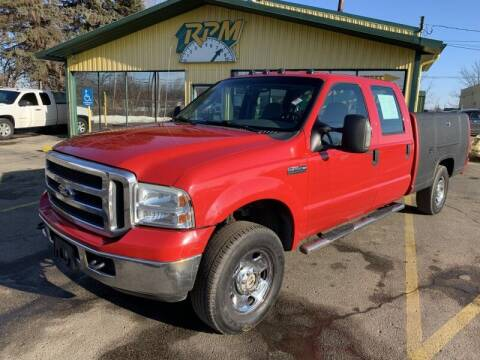 2005 Ford F-250 Super Duty for sale at RPM AUTO SALES in Lansing MI