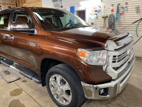 2014 Toyota Tundra for sale at AutoWorx Sales in Columbia City IN