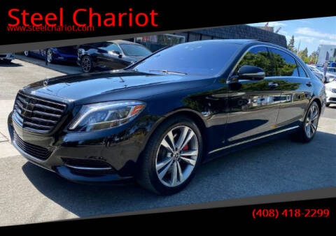2015 Mercedes-Benz S-Class for sale at Steel Chariot in San Jose CA