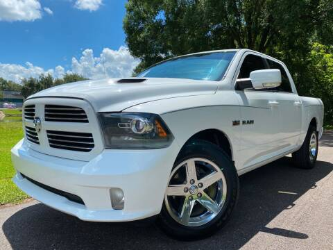 2013 RAM Ram Pickup 1500 for sale at Powerhouse Automotive in Tampa FL