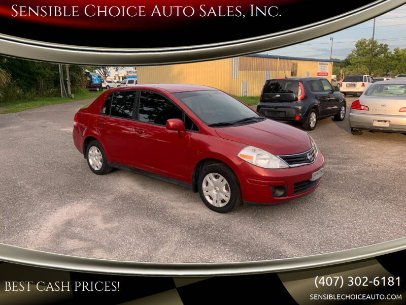 2010 Nissan Versa for sale at Sensible Choice Auto Sales, Inc. in Longwood FL
