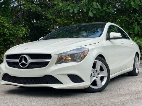 2016 Mercedes-Benz CLA for sale at HIGH PERFORMANCE MOTORS in Hollywood FL
