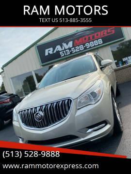 2014 Buick Enclave for sale at RAM MOTORS in Cincinnati OH