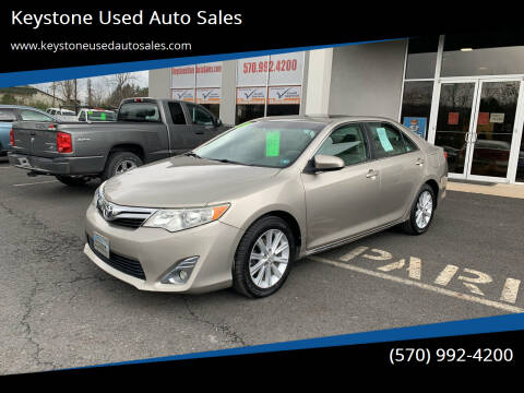 2013 Toyota Camry for sale at Keystone Used Auto Sales in Brodheadsville PA