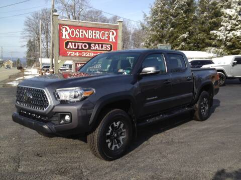 2019 Toyota Tacoma for sale at Rosenberger Auto Sales LLC in Markleysburg PA