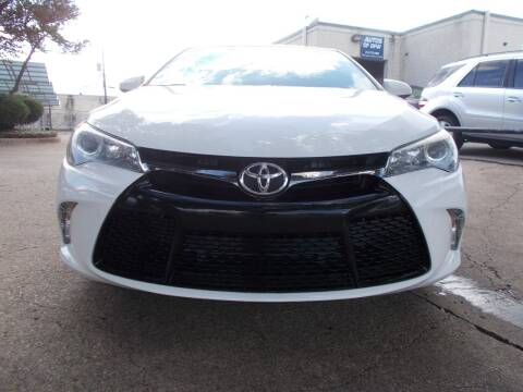2017 Toyota Camry for sale at ACH AutoHaus in Dallas TX