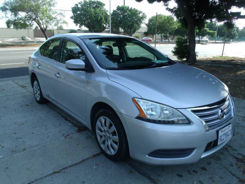 2013 Nissan Sentra for sale at Hollywood Auto Brokers in Los Angeles CA