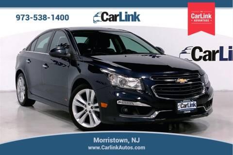 2015 Chevrolet Cruze for sale at CarLink in Morristown NJ