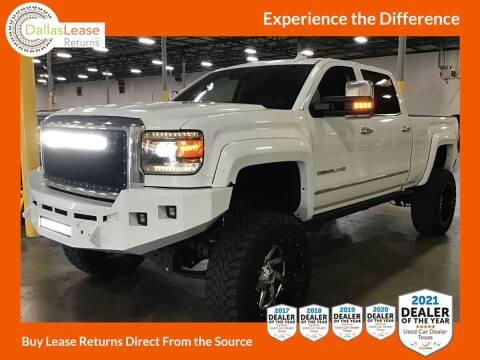 2016 GMC Sierra 2500HD for sale at Dallas Auto Finance in Dallas TX