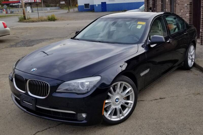 2011 BMW 7 Series for sale at SUPERIOR MOTORSPORT INC. in New Castle PA