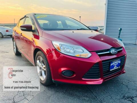 2013 Ford Focus for sale at Transportation Center Of Western New York in Niagara Falls NY