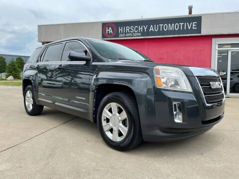 2010 GMC Terrain for sale at Hirschy Automotive in Fort Wayne IN