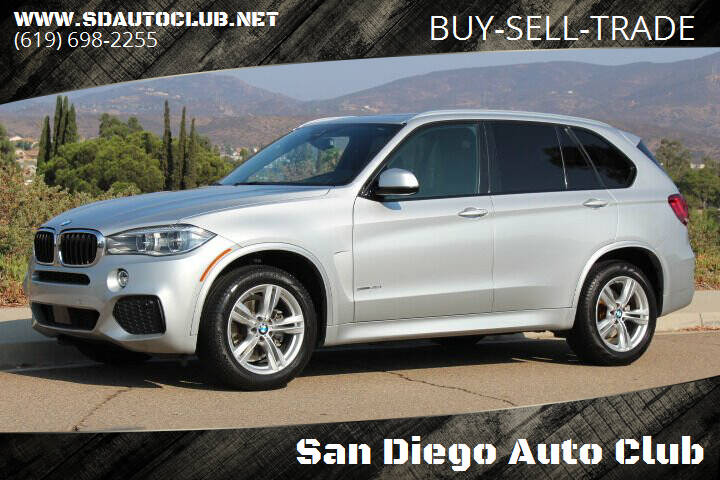 2018 BMW X5 for sale at San Diego Auto Club in Spring Valley CA