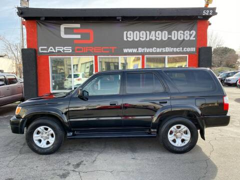 2001 Toyota 4Runner for sale at Cars Direct in Ontario CA