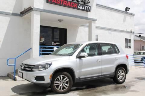 2013 Volkswagen Tiguan for sale at Fastrack Auto Inc in Rosemead CA