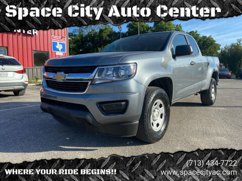 2018 Chevrolet Colorado for sale at Space City Auto Center in Houston TX