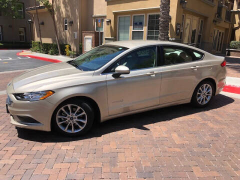 2017 Ford Fusion Hybrid for sale at R P Auto Sales in Anaheim CA