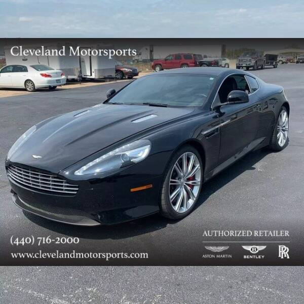 2012 Aston Martin Virage for sale at Drive Options in North Olmsted OH