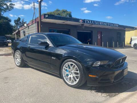 2014 Ford Mustang for sale at Texas Luxury Auto in Houston TX