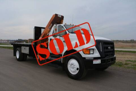 2005 Ford F-750 for sale at Signature Truck Center - Service-Utility Truck in Crystal Lake IL