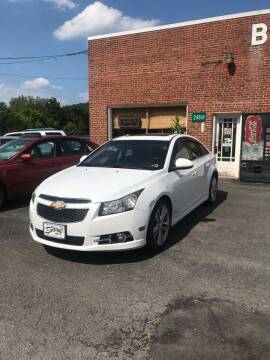 2012 Chevrolet Cruze for sale at BUCKLEY'S AUTO in Romney WV