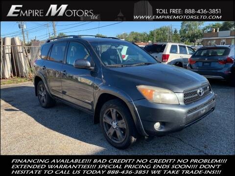 2006 Toyota RAV4 for sale at Empire Motors LTD in Cleveland OH