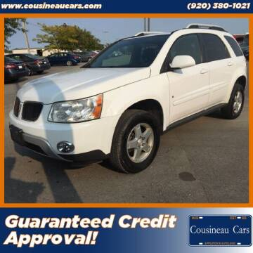 2009 Pontiac Torrent for sale at CousineauCars.com - Guaranteed Credit Approval in Appleton WI