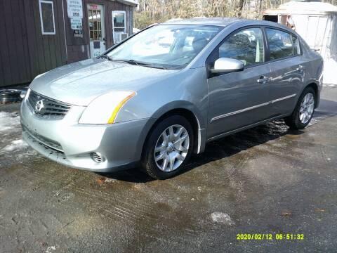 2012 Nissan Sentra for sale at Jack Mansur's Auto LLC in Pelham NH