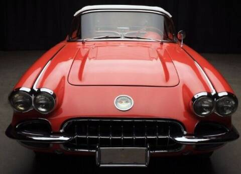 1958 Chevrolet Corvette for sale at Suncoast Sports Cars and Exotics in West Palm Beach FL