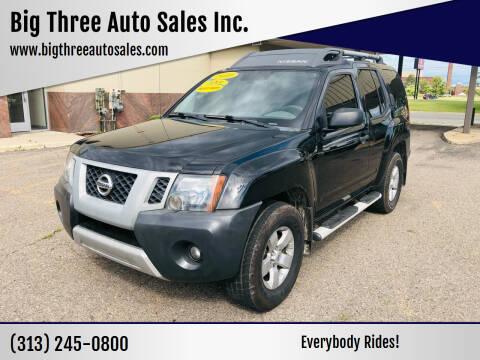 2010 Nissan Xterra for sale at Big Three Auto Sales Inc. in Detroit MI