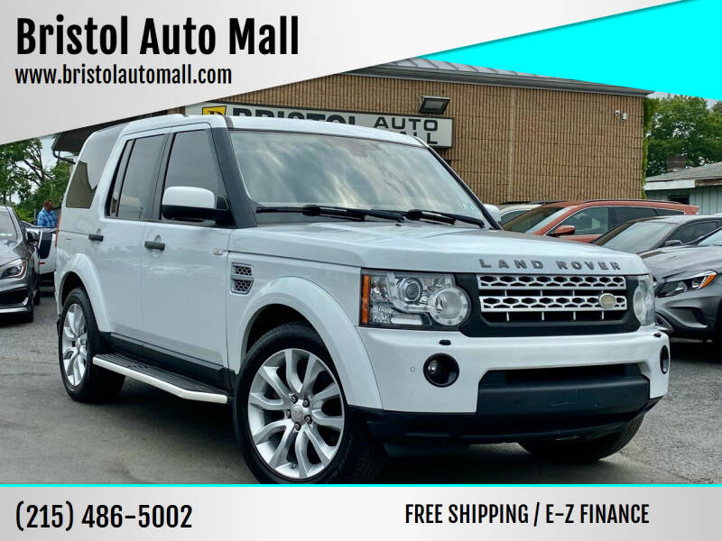2012 Land Rover LR4 for sale at Bristol Auto Mall in Levittown PA