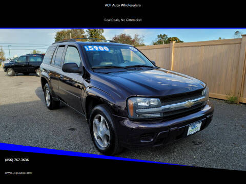 2008 Chevrolet TrailBlazer for sale at ACP Auto Wholesalers in Berlin NJ