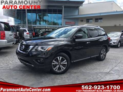 2017 Nissan Pathfinder for sale at PARAMOUNT AUTO CENTER in Downey CA