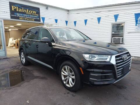2017 Audi Q7 for sale at Plaistow Auto Group in Plaistow NH