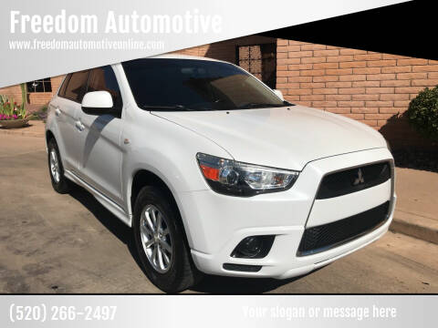 2011 Mitsubishi Outlander Sport for sale at Freedom  Automotive in Sierra Vista AZ