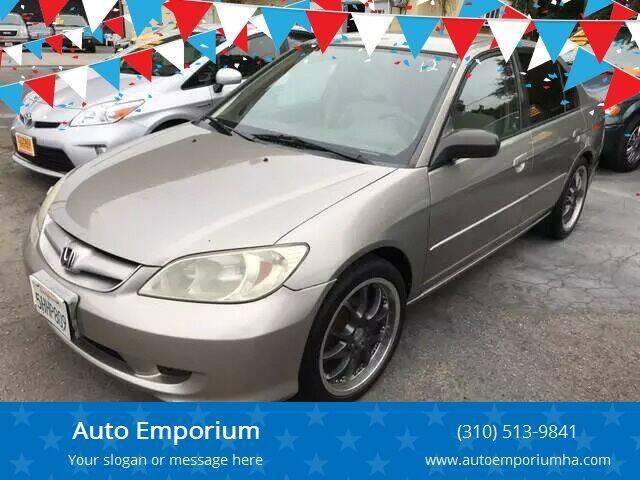 2005 Honda Civic for sale at Auto Emporium in Wilmington CA