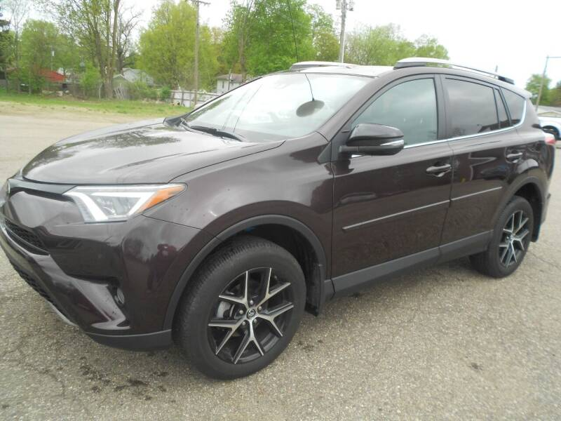 2018 Toyota RAV4 for sale at Mark's Sales and Service in Schoolcraft MI